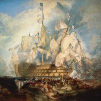 Turner The Battle Of Trafalgar