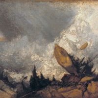 Turner The Fall Of An Avalanche In The Grisons