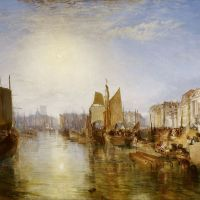 Turner The Harbor Of Dieppe