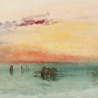 Turner Venice- Looking Across The Lagoon At Sunset 1840
