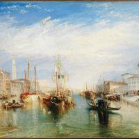Turner Venice From The Porch Of Madonna Della Salute