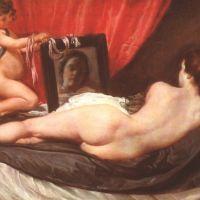 Velasquez Diego Venus At Her Mirror The Rockeby Venus
