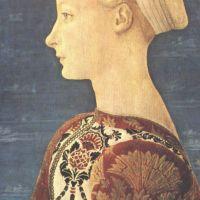 Veneziano Domenico Portrait Of A Young Woman