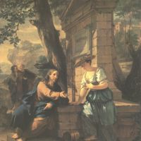 Verkolje Nicolaes Christ And The Woman Of Samaria