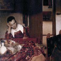 Vermeer A Maid Asleep