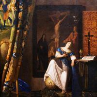 Vermeer Allegory On Faith