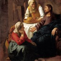 Vermeer Christ In The House Of Martha And Mary