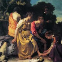 Vermeer Diana And Her Companions