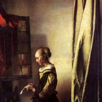 Vermeer Girl Reading A Letter At An Open Window
