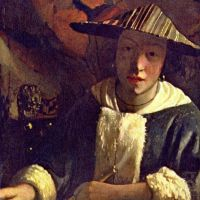 Vermeer Girl With A Flute