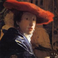 Vermeer Girl With The Red Hat