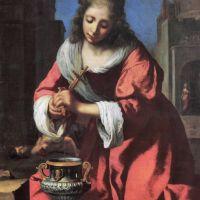 Vermeer Saint Praxedis