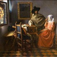 Vermeer The Glass Of Wine