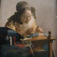 Vermeer The Lacemaker