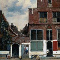 Vermeer The Little Street