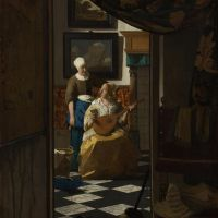 Vermeer The Love Letter