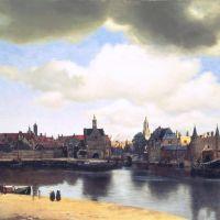 Vermeer View On Delft