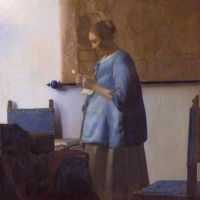 Vermeer Woman Reading A Letter