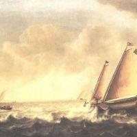 Vlieger Simon De Seascape With Sailboats