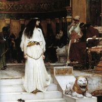 Waterhouse Mariamne Leaving The Judgement Seat Of Herod