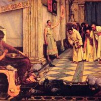 Waterhouse The Favourites Of The Emperor Honorious