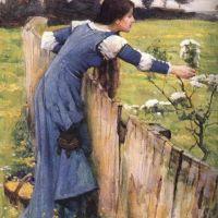 Waterhouse The Flower Picker