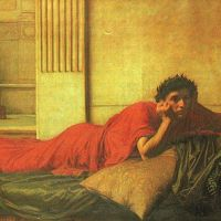 Waterhouse The Remorse Of Nero After The Murdering Of His Mother