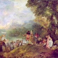 Watteau Jean Antoine Embarquement Pour Cythere