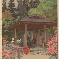 Yoshida Hiroshi Azalea Garden 1935