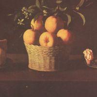 Zurbaran Francisco De Still Life With Lemons Oranges And Rose
